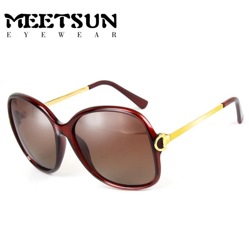 Cheap online MEETSUN perempuan bintang model kaca mata kacamata hitam  kacamata terpolarisasi 50e3d09814