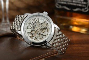 Men's Watch Automatic Hollow Men Waterproof Business Watches - intl