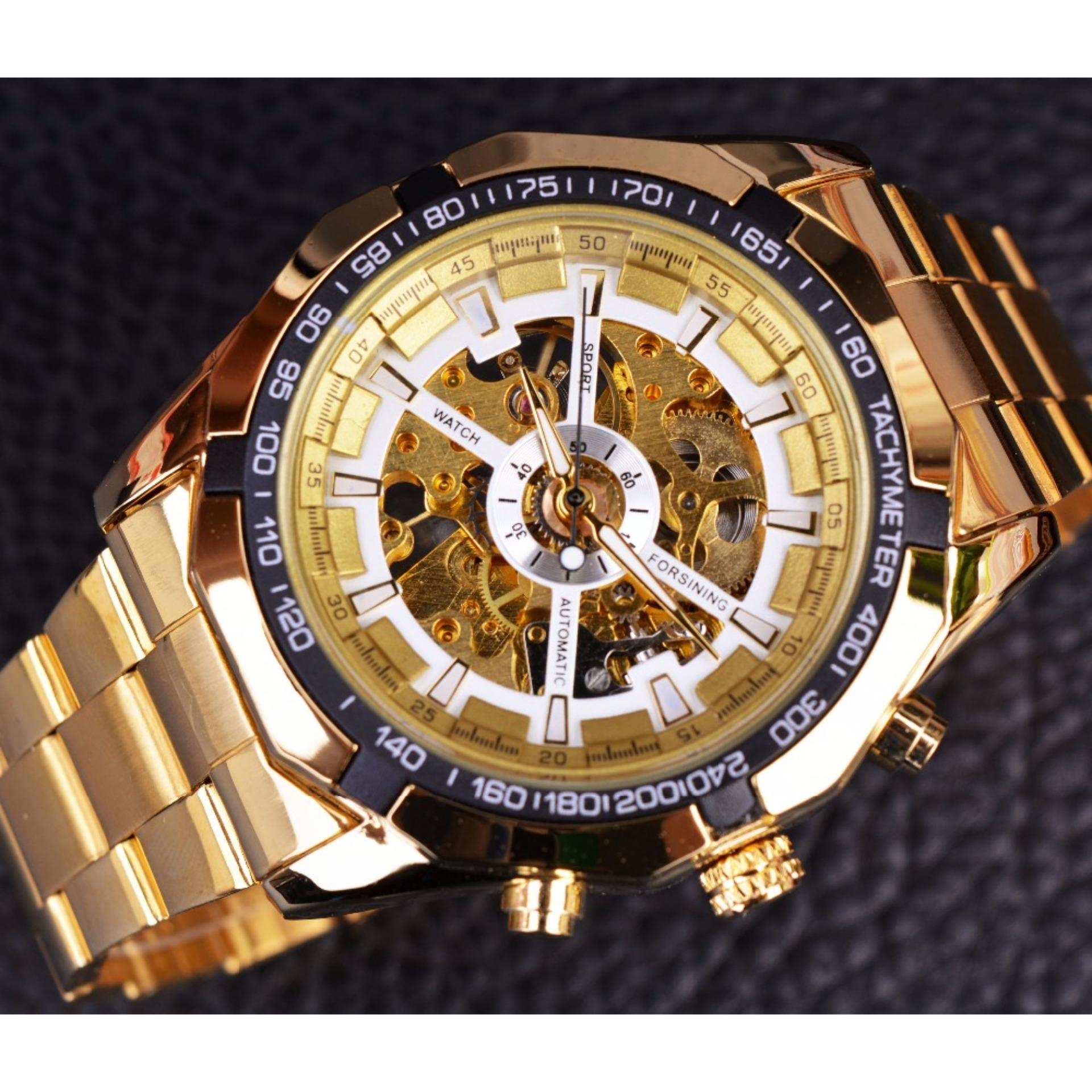 new skeleton golden expensive mens rectangular for style watches gold men transparent cntimi product from vintage sewor