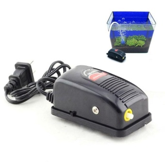 Mini 3W Super Silent Adjustable Aquarium Fish Tank Oxygen Air Pump - intl