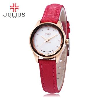 MiniCar Julius JA - 723 Female Quartz Watch Slender Band Spot Scale Small Dial Stereo Cut