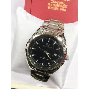 Mirage Jam Tangan Casual Pria Stainless Steel - M 7415 Silver - 3