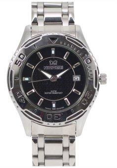 Mirage Jam Tangan Pria Original 8032 BRP - M - Date Black