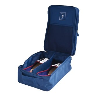 Gambar Detail Barang Monopoly Travel Shoe Bag - Dark Blue Terbaru