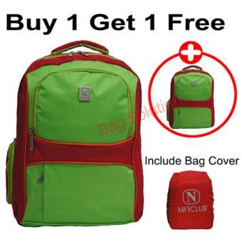 Real Polo Tas Ransel Laptop Tahan Air - Tas Pria Tas Wanita 8313 . Source · Tahan Air - Up to 15 Inch Plus Free Bag Cover-.