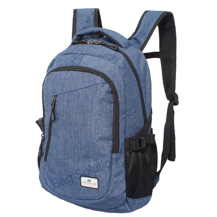 Navy Club Tas Ransel Laptop Kasual EIBA Backpack Up to 14 inch Daypaack .