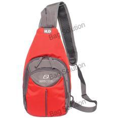 Navy Club Tas Selempang Travel - Tas Punggung 5520 - Sling Bag Tas Pria Tas Wanita - Merah