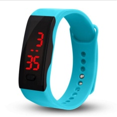New fashion Two tone light display trends touch LED Upgrade edition electronic Bracelet watches, children's watches, outdoor sports watches - intl
