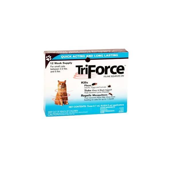Obat Kutu Kucing Triforce 0.7 Ml - 1 Tube