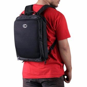 Ozone Laptop Backpack 3 in 1 725 Slim - Hitam