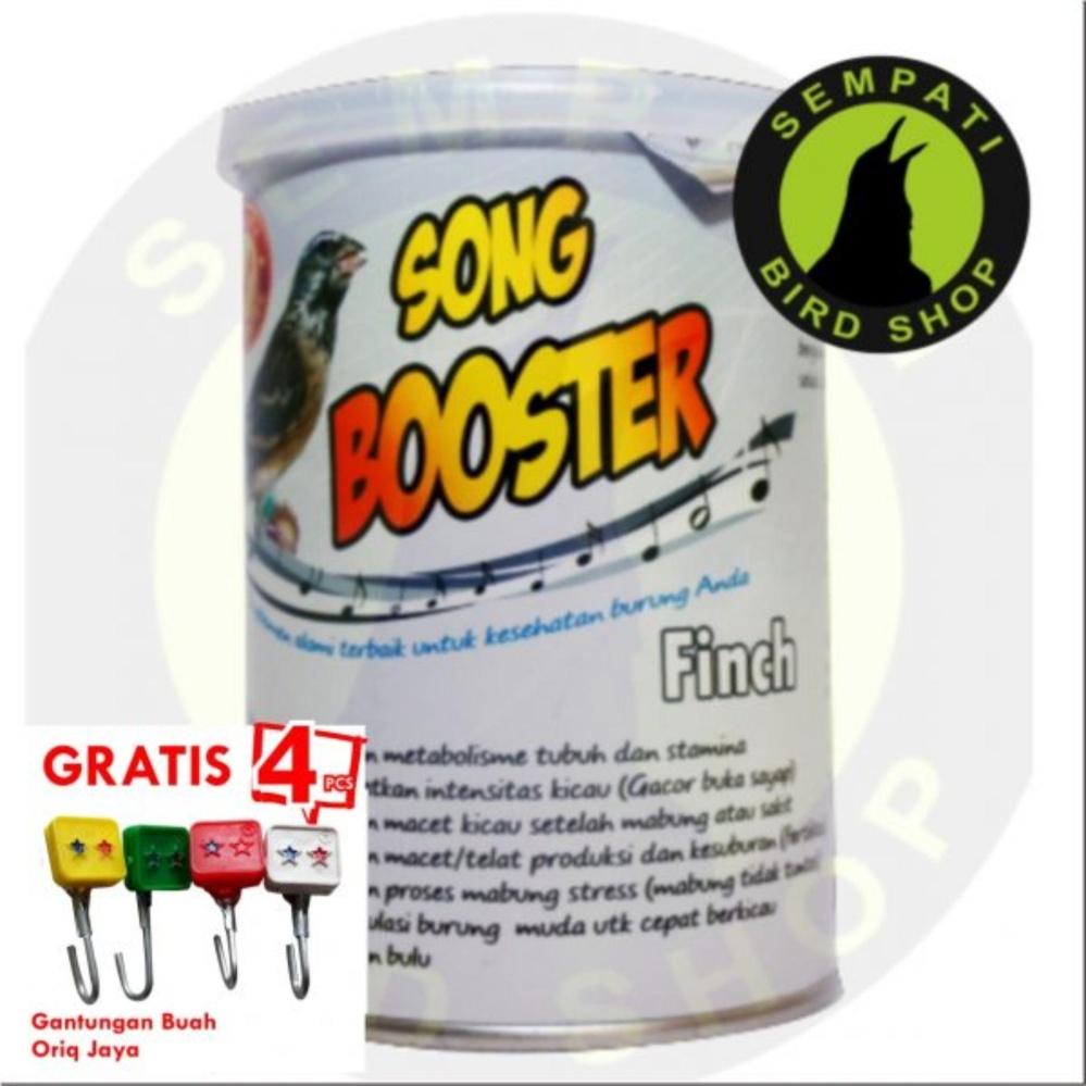 Pakan Burung Finch Song Booster 200gr Fumayin Nutribird (Bonus 4 pcs gantungan buah oriq jaya)