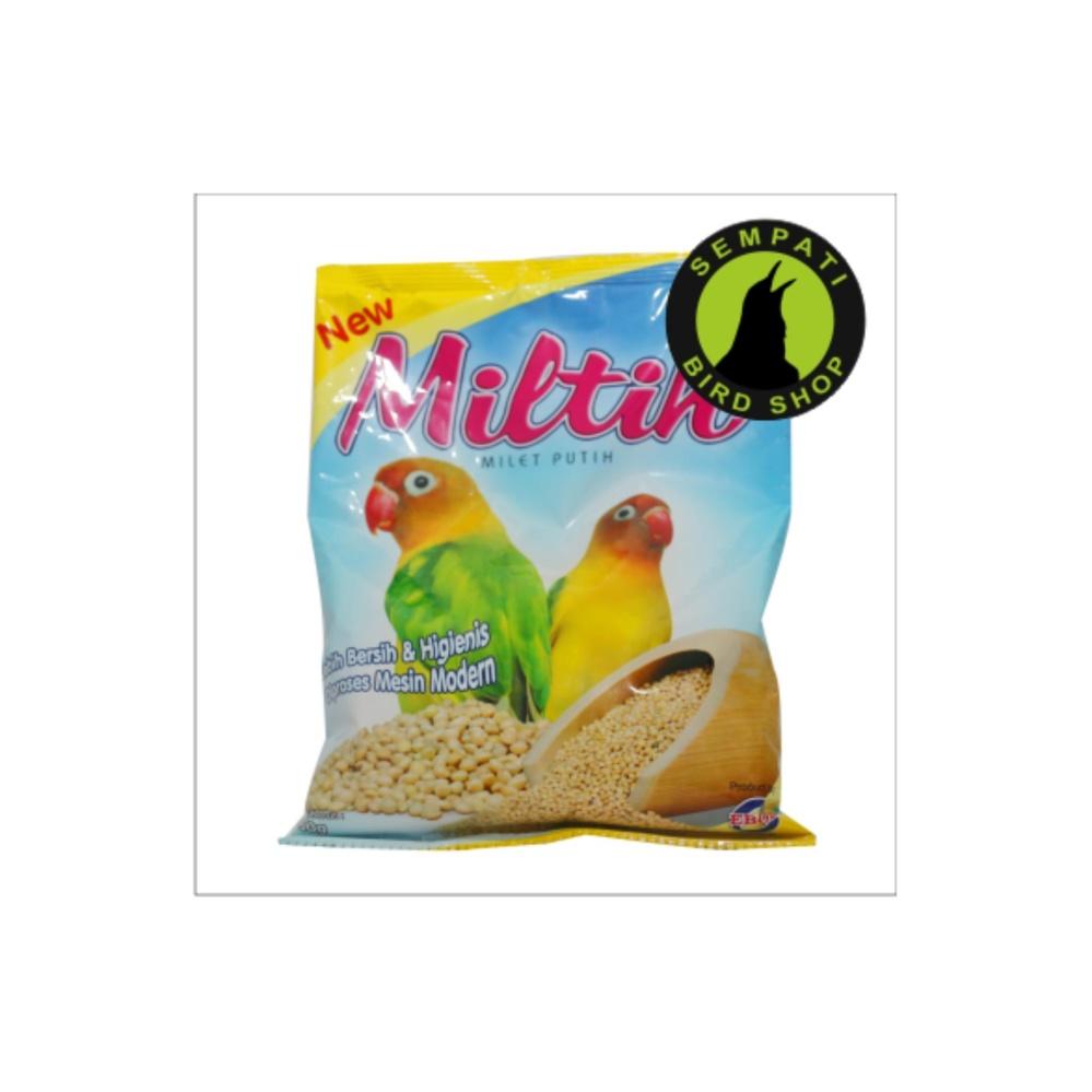 Cheap online Pakan Burung Lovebird Miltih (Milet Putih) Kemasan Plastik Ebod Jaya