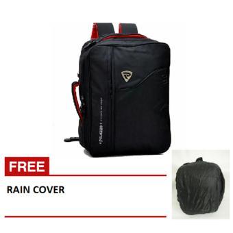 Palazzo Tas 3in1 (Ransel, Selempang,Jinjing) 34685 + Raincoat jas hujan-