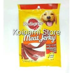 Pedigree Meat Jerky Beef 80G /Cemilan Anjing / Makanan Anjing / Snack Anjing/Pecinta Anjing