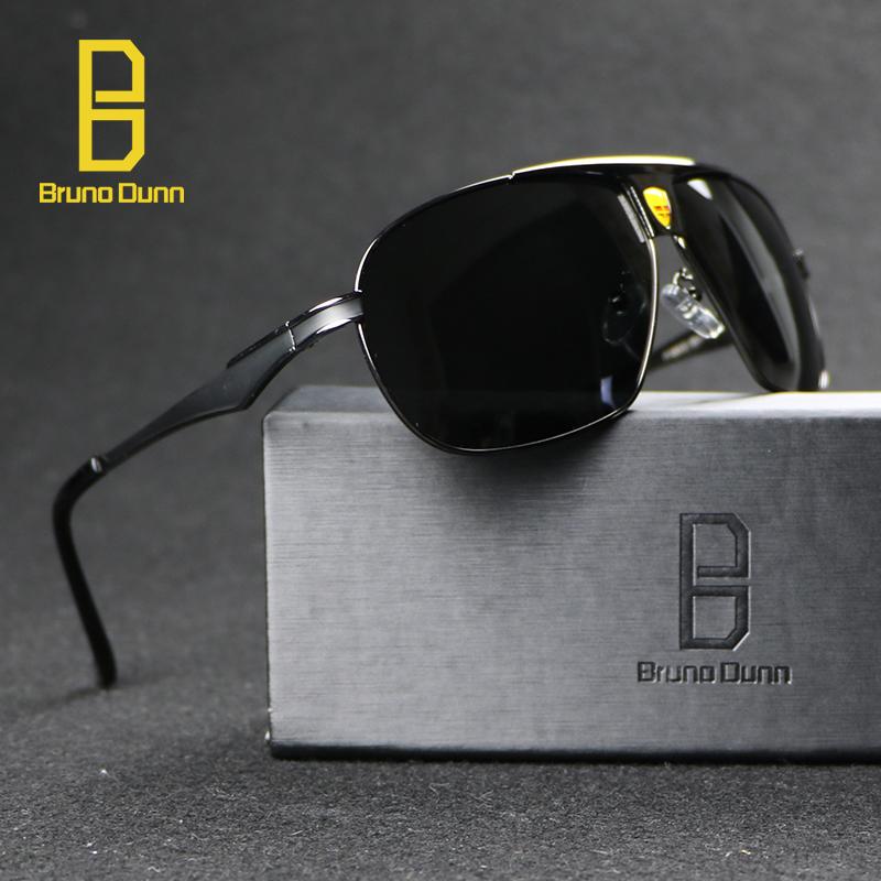Penerbang terbaik paduan kacamata pria merek lensa terpolarisasi mengemudi memancing aksesoris kacamata mengemudi kacamata hitam untuk
