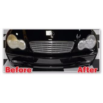 Pengkilap / Pelindung / Penghilang Noda Kuning Kaca Lampu Mobil - WAXCO LENS RESTORER & Treatment UV Protector - 4