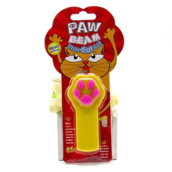PentaQ Lasers Make Cat Cat Toy Infrared Funny Cat Bar Laser FunnyCat Cattoys The Cat Cat Toy Dog Toy (Yellow) - intl