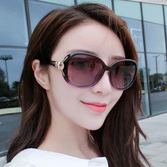 Perempuan kacamata terpolarisasi kacamata retro kacamata hitam kacamata hitam
