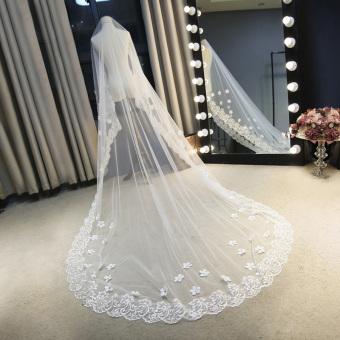 Gambar Pernikahan Korea pengantin kerudung baru
