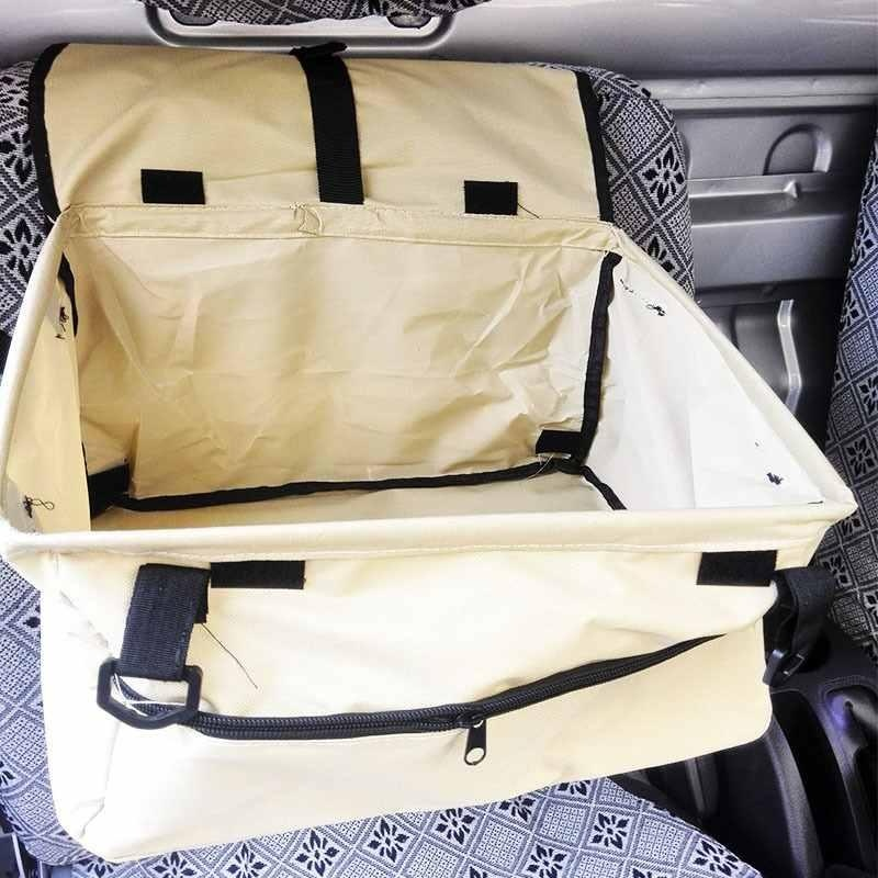 Pet Dog Cat Booster Seat Auto Carrier Puppy Safety Basket Travel Easy To Install - intl