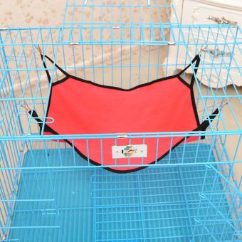 Pet kucing tidur tambahan tempat tidur gantung Merah