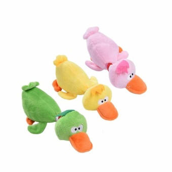 Pet Toy Dog Playmate duck Plush Toys - intl