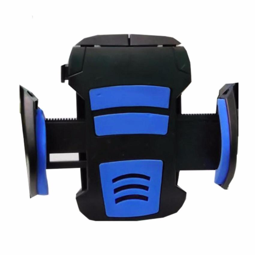 Phone Holder Bracket Universal Holder Spion Untuk Motor - Free Waterproof Case