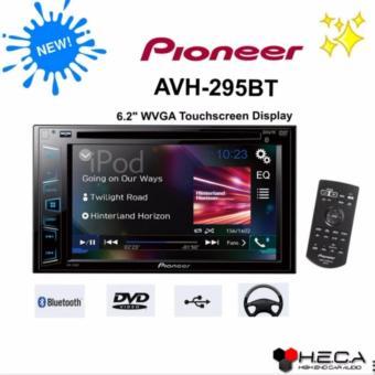 Pioneer AVH-295BT Head Unit Double Din AVH 295 BT Tape Audio Mobil Bluetooth [HITAM]