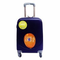Polo Hoby Koper Hardcase Luggage 24 Inchi 705 Blue Waterproof