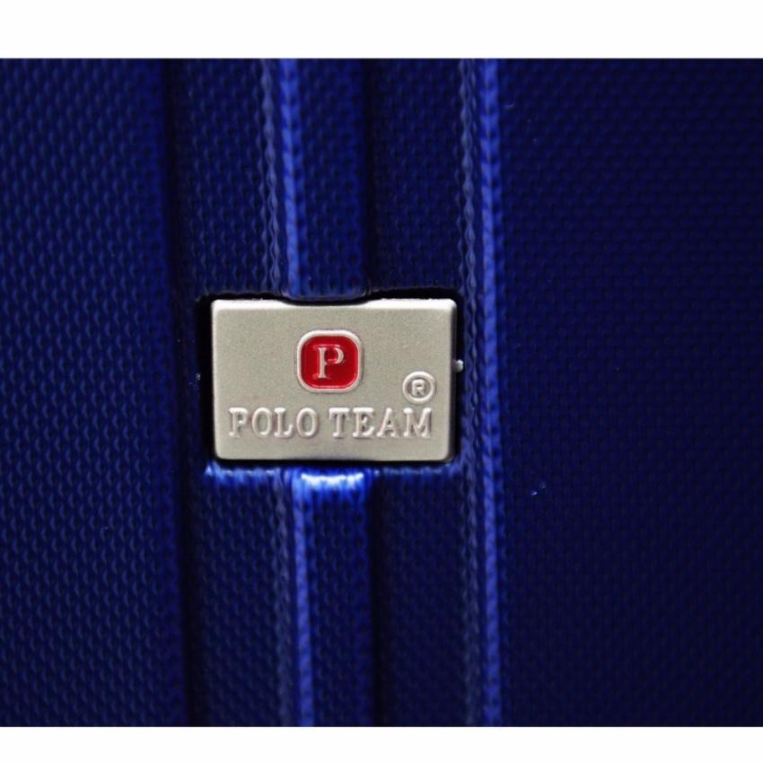 Polo Team Tas Koper Hardcase Kabin Size 20 inch 003 Biru Tua .