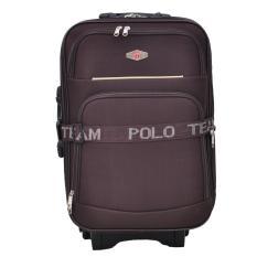 Polo Team Tas Koper Kabin 091 - 20 inch Gratis Pengiriman JABODETABEK - Cokelat
