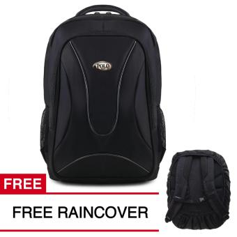 Polo USA Metal Tas Laptop Backpack M01 + FREE Raincover