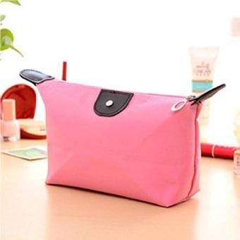 Prime Tas Kosmetik Mini - Cosmetic Bag Pouch Purse Tempat Dompet Kosmetik - Pink