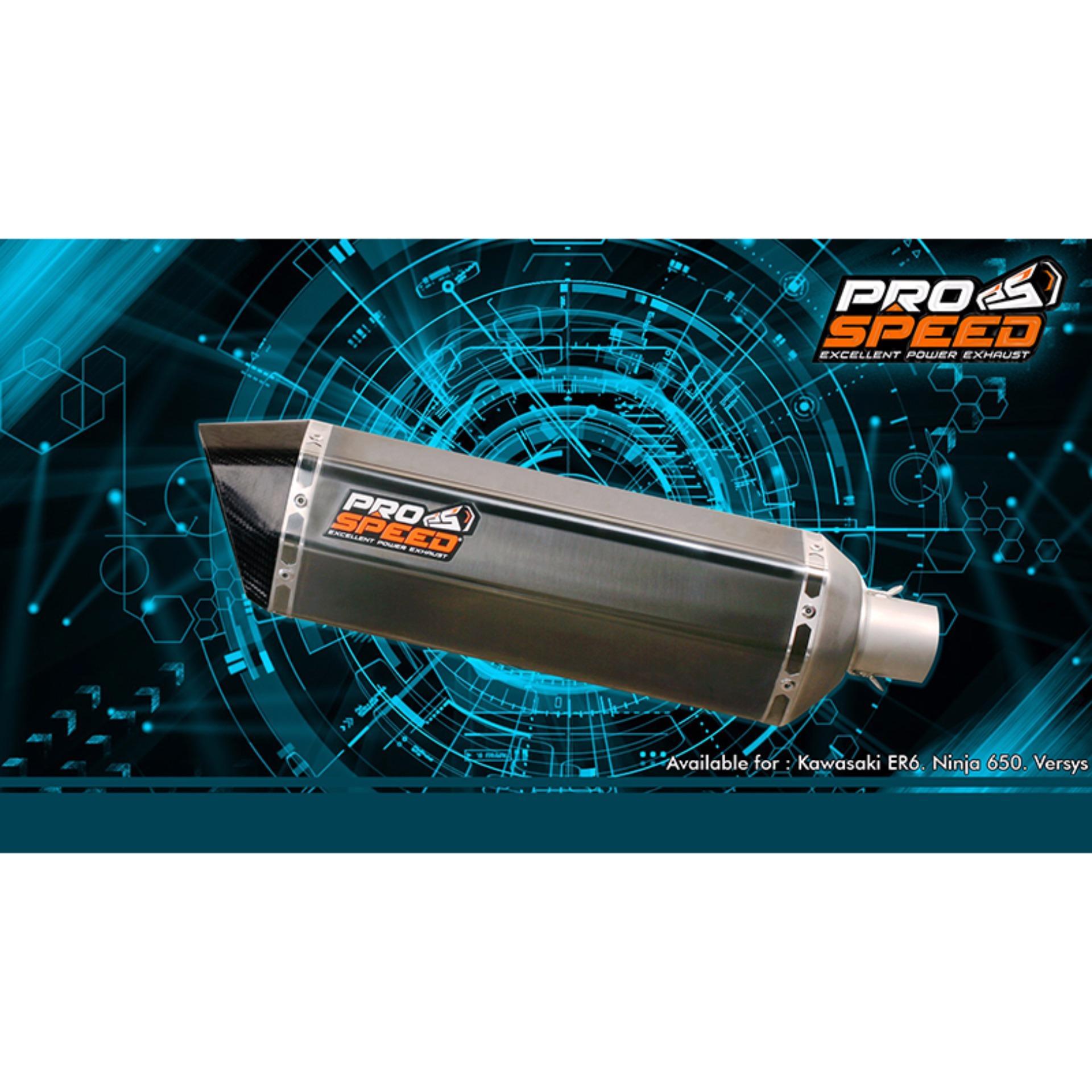 Belanja Murah Pro Speed Kawasaki Er6 Carbon Series Full System Prospeed Black Yamaha R25 Mt 25 Slip On