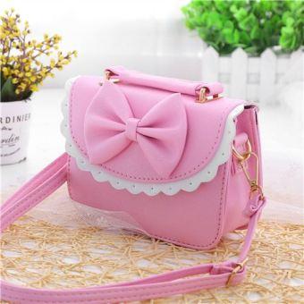 Putri anak-anak Mini Korea Fashion Style tas kecil tas bahu