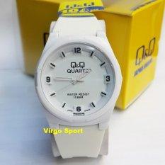 Q&Q Watch - Jam Tangan Wanita - Rubber Strap - VQ025J