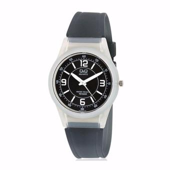 Q&Q Watch - Original - Jam Tangan Wanita - Rubber Strap - SmileSollar - QQ9596Y