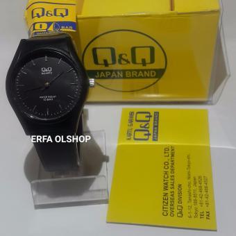 Terbaik Murah Q&Q Watch - QQ0011 Jam Tangan Sport Wanita - Rubber Strap Belanja murah