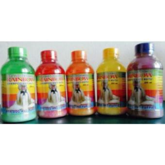 Rainbow dog / anjing 250ml - Shampoo anti kutu anjing