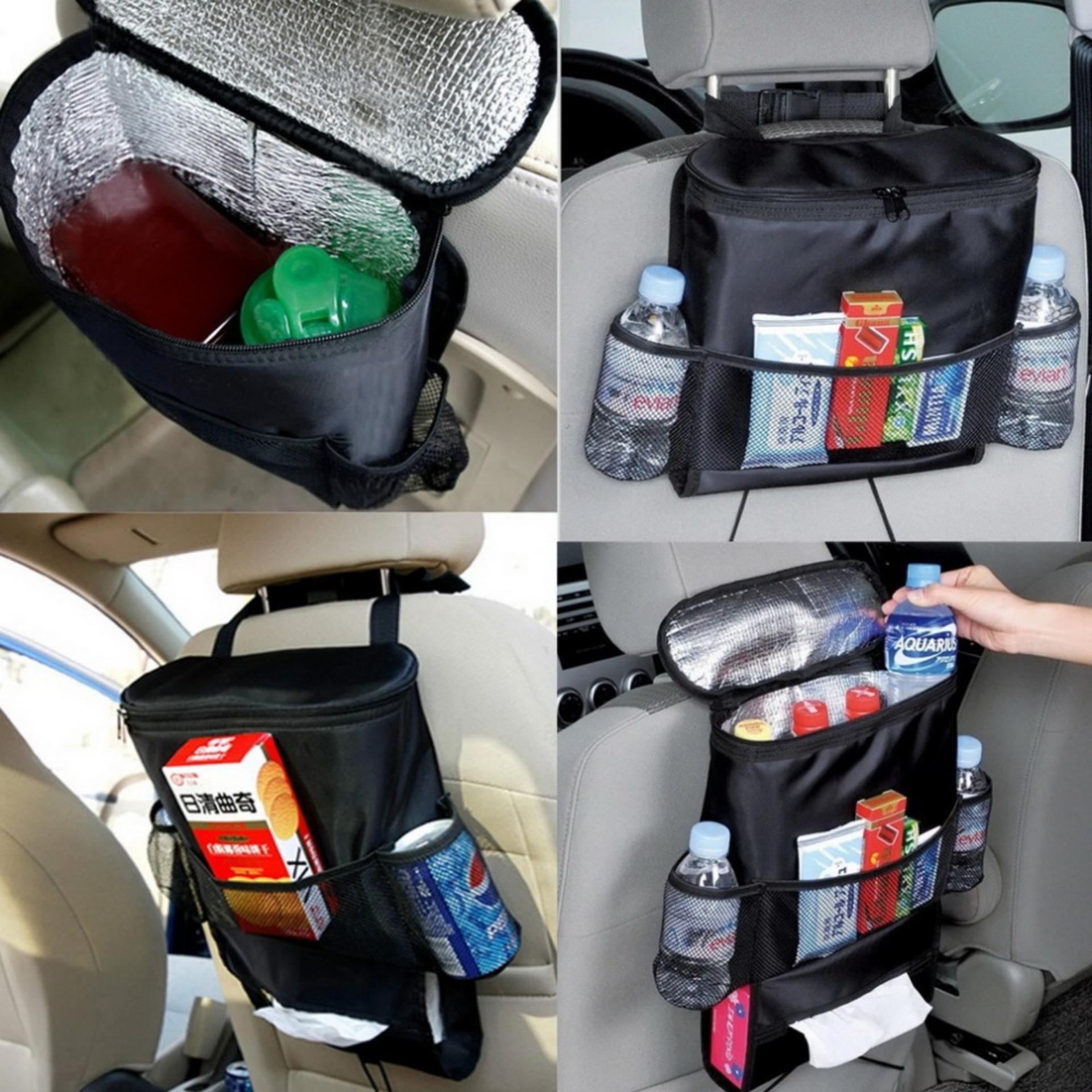 ... Rak Gantungan di mobil / Car Seat Organizer Bag / Tas Jok Mobil ...