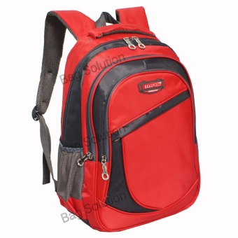 Real Polo Tas Ransel Kasual 6370 Backpack Daypack - Merah