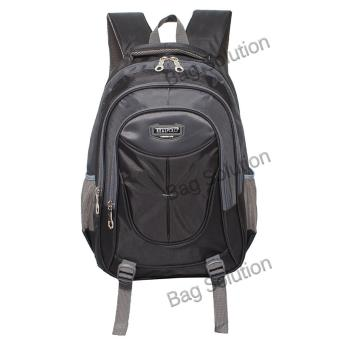 Real Polo Tas Ransel Kasual 6371 Backpack Daypack - Hitam
