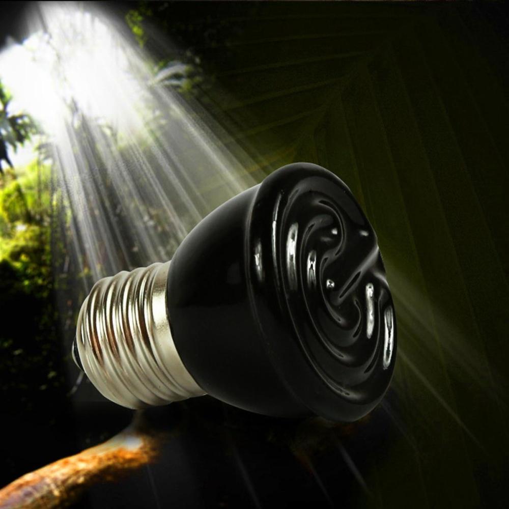 REPTILE HEAT LIGHT 100W Day Night Amphibian Bird Snake Lamp Basking- intl