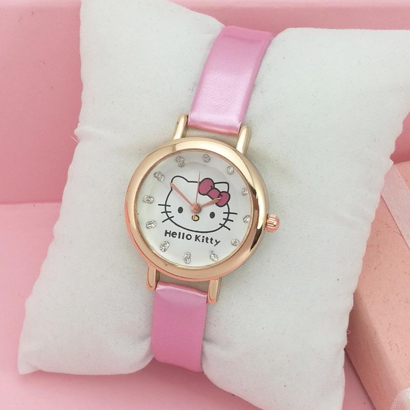 Romantis Gadis lucu gadis payung digital jam tangan jam tangan anak