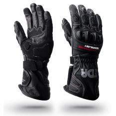 Sarung Tangan Motor Balap / Touring TDR Gloves RG-REVO Black