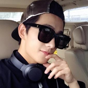 Sedikit pelindung layar warna kepribadian face-lift kacamata hitam kacamata hitam