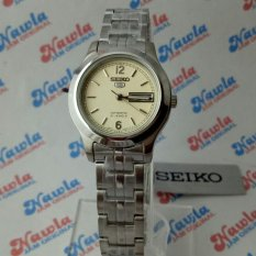 Seiko 5 Ladies SYMD97K1 Automatic Beige Dial  Jam Wanita SYMD97