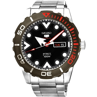 Seiko 5 Sport Automatic - Jam Tangan Pria - Silver - Stainless Steel - 70APRS-V