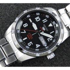 Seiko 5 Sports SRP519K1 Automatic Black Dial - Jam Tangan Pria SRP519