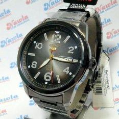 Seiko 5 Sports SRP631K1 Automatic Black Bracelet - Jam Tangan Pria SRP631